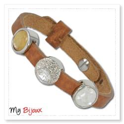Slice in bracelet 008
