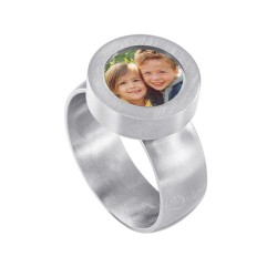 Mini Coin Ring with Photo