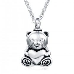 Memorial Ash Holder Teddy Bear Pendant