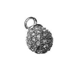 Pendant small Ball with Zircon
