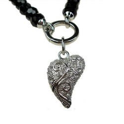 Pendant Heart with Curl