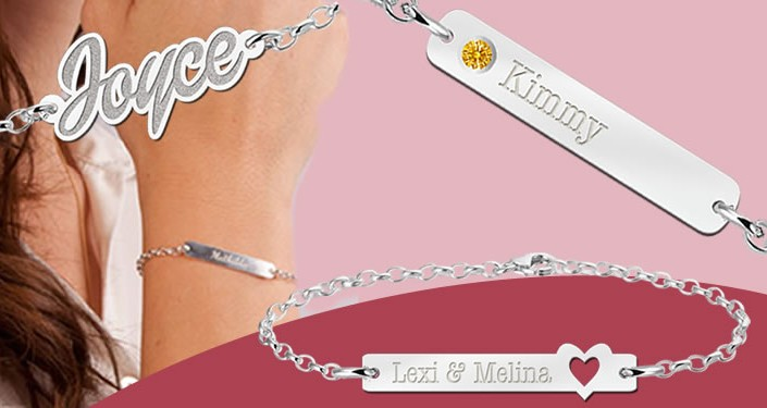 Bracelet with your name