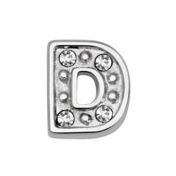 Memory Locket bedel letter D