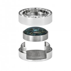 Mini Coin Holder Glossy CZ