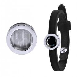 Mini Coin Bracelet Black