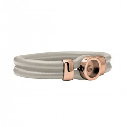 Mini Coin Beige Bracelet socket Rosé 18 cm