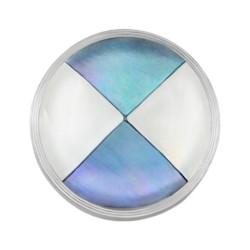 Mini Coin Multi Colour Triangle Shape Shell