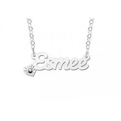 NameNecklace Model Esmee