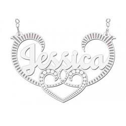 NameNecklace Model Jessica