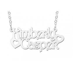 NameNecklace Model Kimberly-Casper
