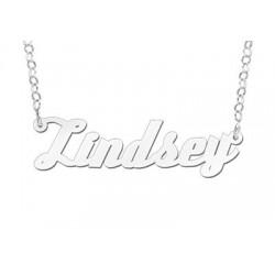 NameNecklace Model Lindsey
