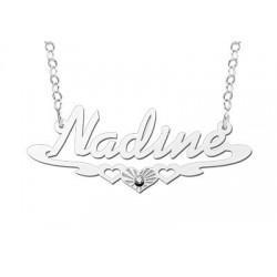 NameNecklace Model Nadine