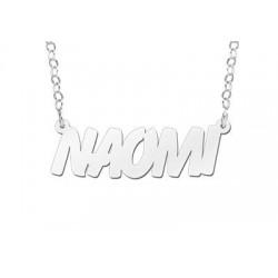 NameNecklace Model Naomi