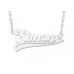 NameNecklace Model Simone