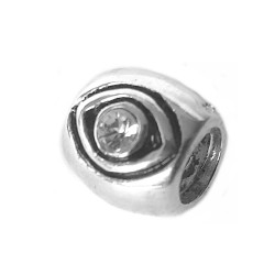 Silver Bead for Pandora PZ002a