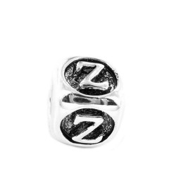 Silver Bead for Pandora PZ449 Z