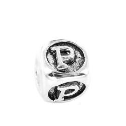 Silver Bead for Pandora PZ439 P