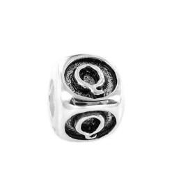 Silver Bead for Pandora PZ440 Q