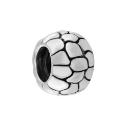 Silver Bead for Pandora PZ011