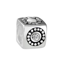 Silver Bead for Pandora PZ018