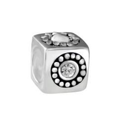 Silver Bead for Pandora PZ018