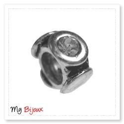 Silver Bead for Pandora PZ020