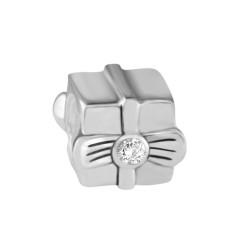 Silver Bead for Pandora PZ021