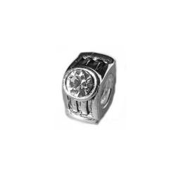 Silver Bead for Pandora PZ163