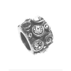 Silver Bead for Pandora PZ025A