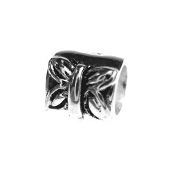 Silver Bead for Pandora PZ037