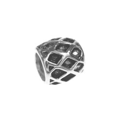 Silver Bead for Pandora PZ041