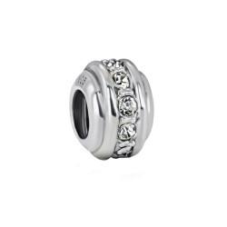 Silver Bead for Pandora PZ099