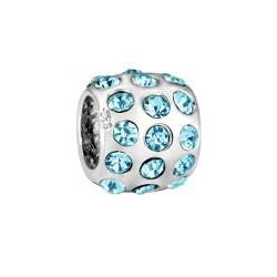 Silver Bead for Pandora PZ107