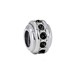 Silver Bead for Pandora PZ115