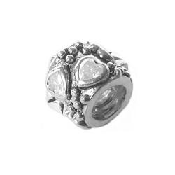 Silver Bead for Pandora PZ313