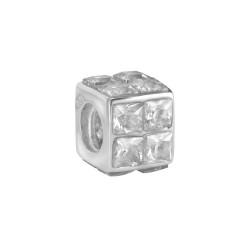 Silver Bead for Pandora PZ241