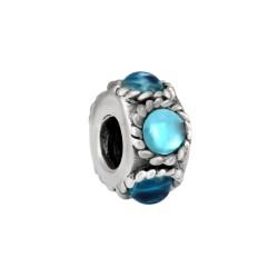 Silver Bead for Pandora PZ184