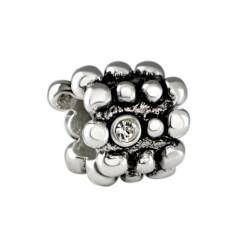 Silver Bead for Pandora PZ111