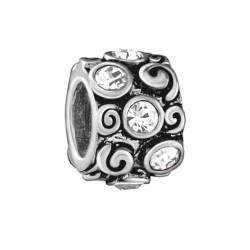 Silver Bead for Pandora PZ245