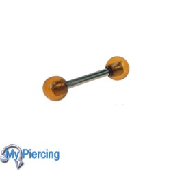 Piercing Barbell 1.6 x 10