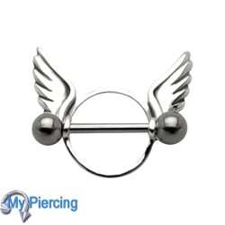 Nipple Piercing Wings