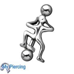 Wenkbrauw Piercing WEB029