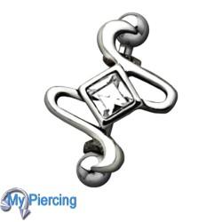 Wenkbrauw Piercing WEB030