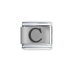 L039 Italian Charm letter C