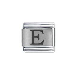 L041 Italian Charm letter E