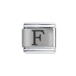 L042 Italian Charm letter F