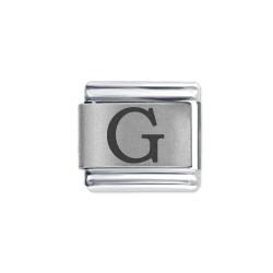 L043 Italian Charm letter G