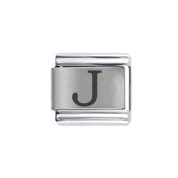 L046 Italian Charm letter J