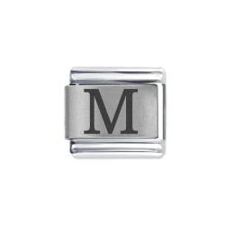 L049 Italian Charm letter M