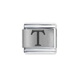 L056 Italian Charm letter T